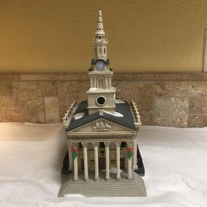 Dept. 56 Dickens. St. Martin in the Fields church